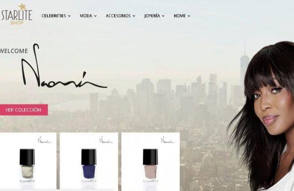 超模Naomi Campbell联手西班牙时尚电商推出首个同名美妆时尚系列