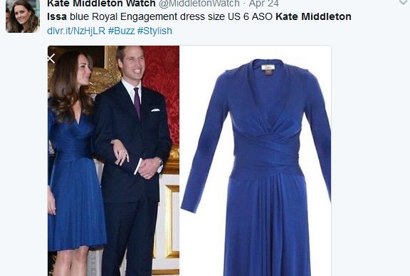 """英国老牌百货 House of Fraser 收购""""被凯特王妃捧红""""的时装品牌 Issa"""