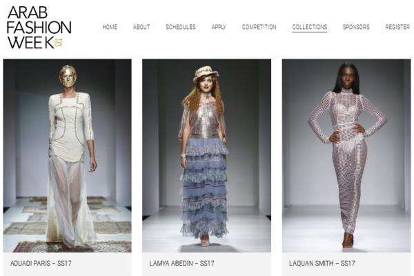 中东时尚度升级,中性服装亮相阿拉伯时装周
