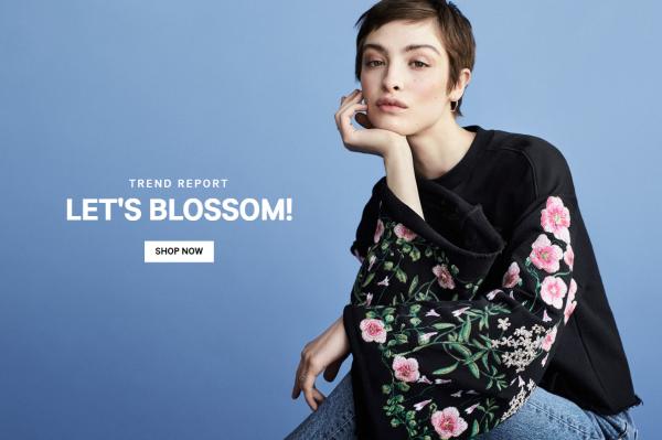 H&M  4月报告:门店数量同比增长 11%,但销售额同比仅增长 7%