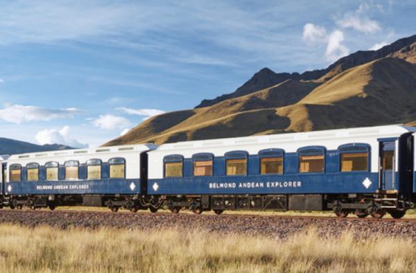 """""""东方快车""""母公司、奢华旅游品牌 Belmond 推出南美洲第一条豪华列车旅行路线"""