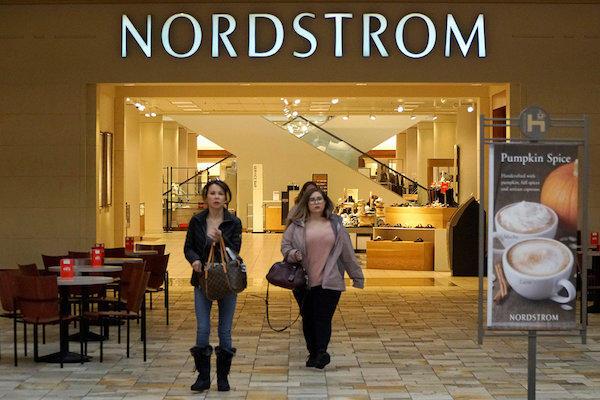 """美国百货业大衰退中的""""幸运儿"""":Nordstrom销售利润双双实现增长,电商占比24%"""