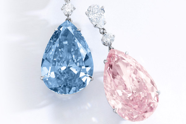苏富比拍出5740万美元史上最贵钻石耳环,神秘买家来自亚洲