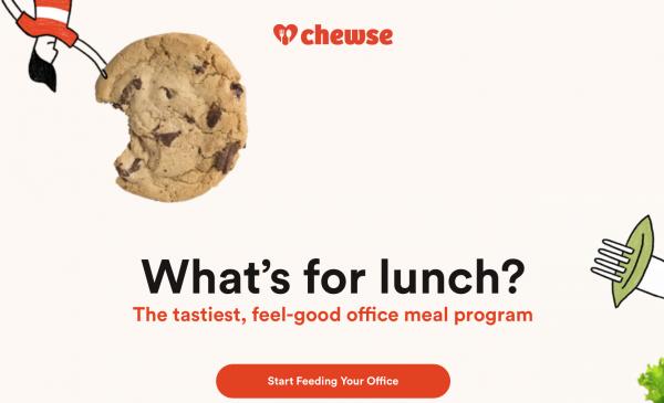 办公室订餐服务初创公司 Chewse 完成 730万美元 B轮融资