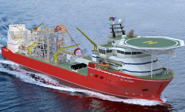 去大海淘钻石!De Beers 全球最大钻石勘探船出航,每年海产钻石120万克拉