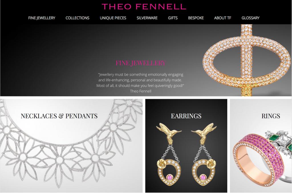 英国珠宝设计师 Theo Fennell 500万英镑购回同名品牌,将重回高档珠宝定位