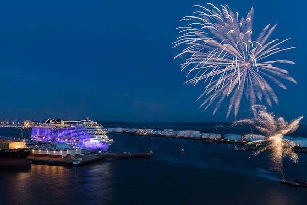 欧洲邮轮公司 MSC Cruises 订购4艘新型邮轮,最大一艘载客量破业内纪录