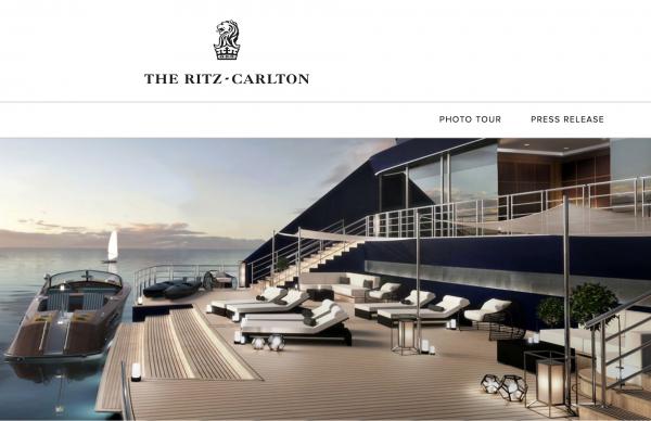 打通海上和陆地奢华旅行,丽思卡尔顿将开通奢华邮轮业务:Ritz-Carlton Yacht Collection