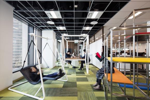 世邦魏理仕最新报告:人均办公空间在缩小,但办公室正在变得越来越酷炫!