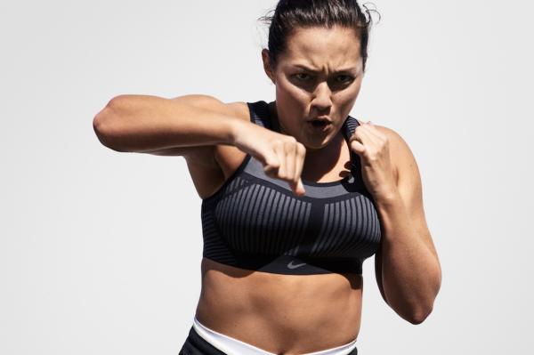 把运动鞋的编织技术运用到运动文胸!Nike 推出首款 Flyknit 文胸