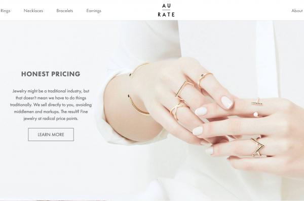 普林斯顿闺蜜打造的互联网珠宝品牌 AUrate融资262万美元