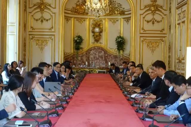 和法国总理与两大豪门家族面对面!凯辉企业家代表团7月法兰西之行