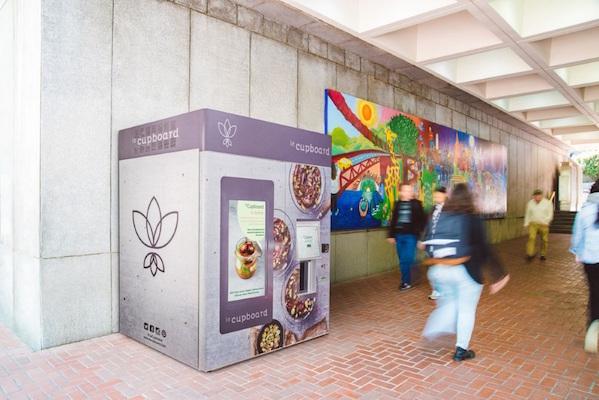 旧金山餐厅 leCupboard 推出素食自动售货机
