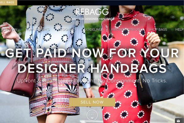 二手奢侈品包袋寄售网站 Rebagg 完成 1550万美元 B轮融资