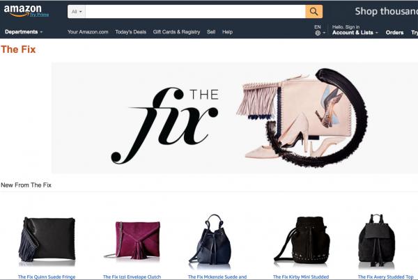 时尚帝国梦再进一步,亚马逊推出自有时尚配饰品牌 The Fix