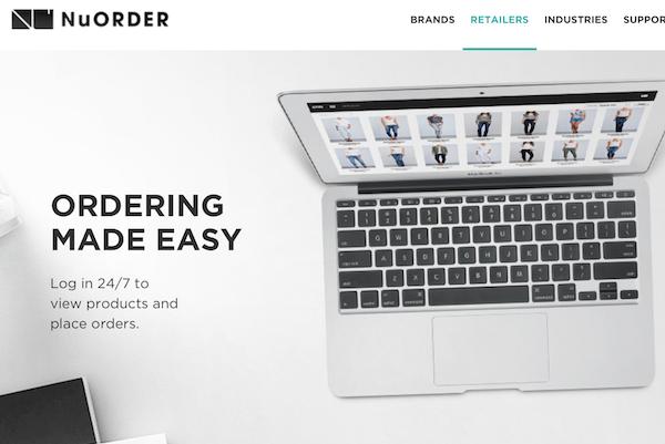 颠覆品牌方和零售商进行批发业务的方式!B2B 电商平台 NuORDER 完成800万美元 B轮融资
