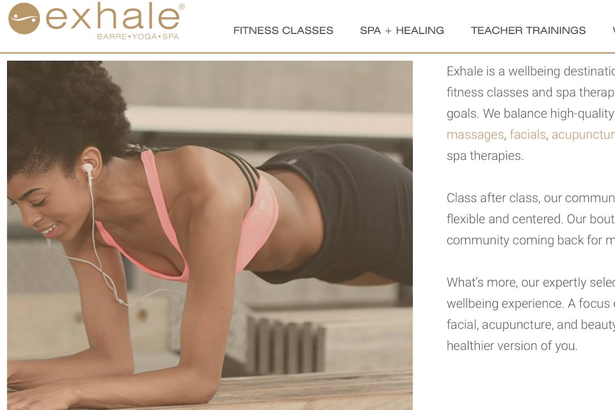 凯悦酒店集团又收购了一个健身和 Spa品牌:Exhale