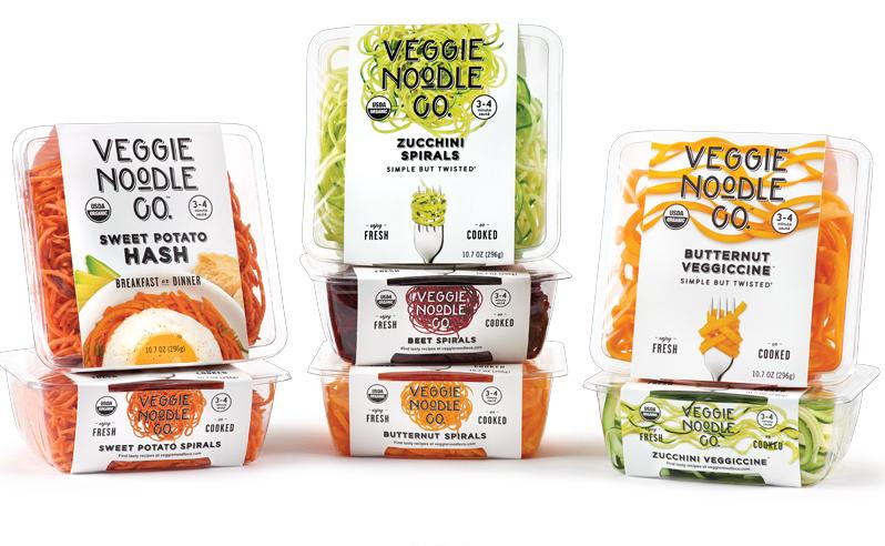 美国素食面条公司 Veggie Noodle 获私募基金 Encore 投资