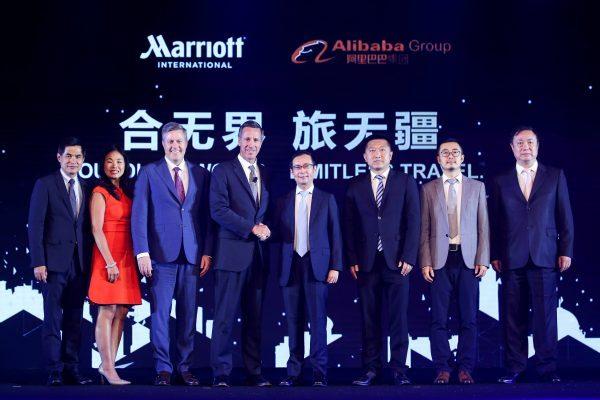 万豪与阿里巴巴创立合资企业,目标是中国出境游客