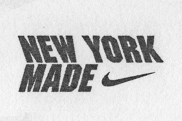 "Nike ""纽约制造""系列宣传活动:与费德勒、Off-White、Public School等推出联名系列"