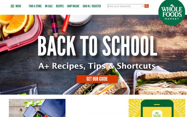 亚马逊收购美国天然食品超市 Whole Foods 后的头等大事:降价!
