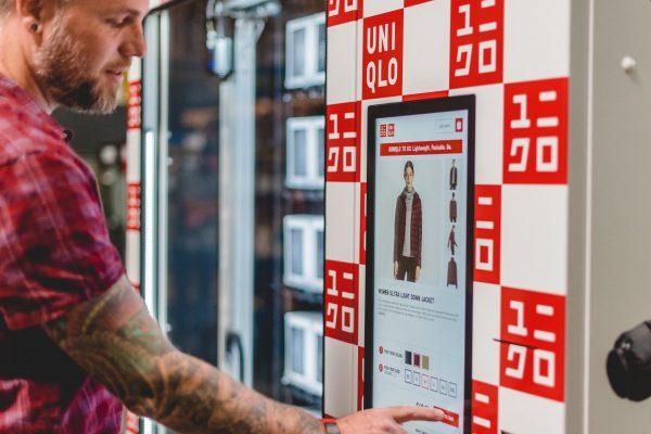 优衣库将在美国十个高人流量地区设立自动服装售货机:Uniqlo to Go