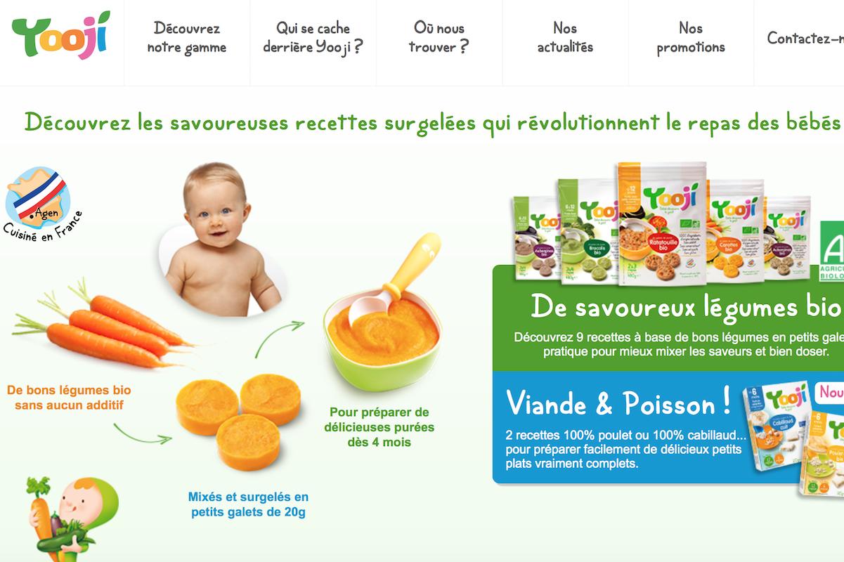 拥抱健康食品,法国达能投资有机婴儿食品初创公司 Yooji