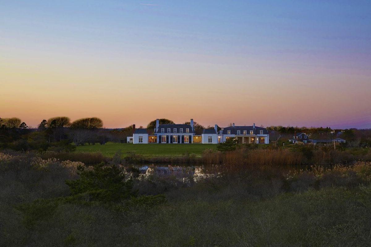 """打破纽约州房产最贵纪录:汉普顿""""Jule Pond"""" 庄园标价1.75亿美元"""