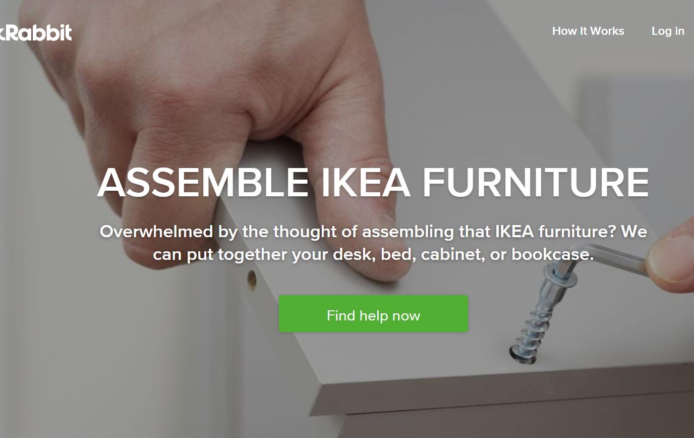 """肥水不流外人田!IKEA 收购互联网家政服务平台TaskRabbit,""""组装宜家家具""""是后者的热门项目"""