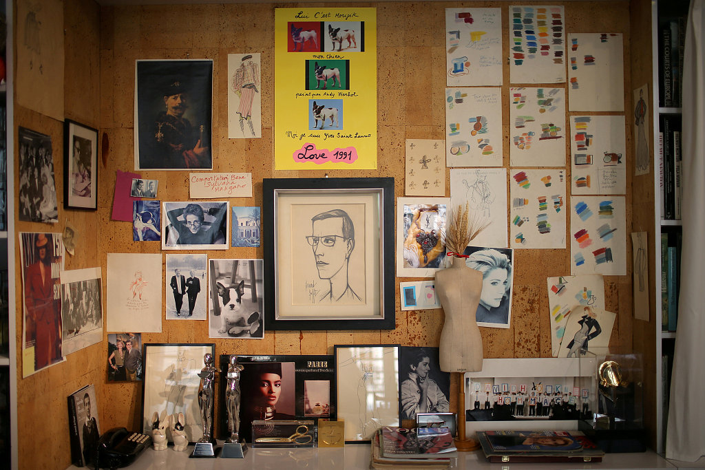 领略设计大师隐秘的精神世界,Yves Saint Laurent 巴黎纪念馆 10月3日正式开放