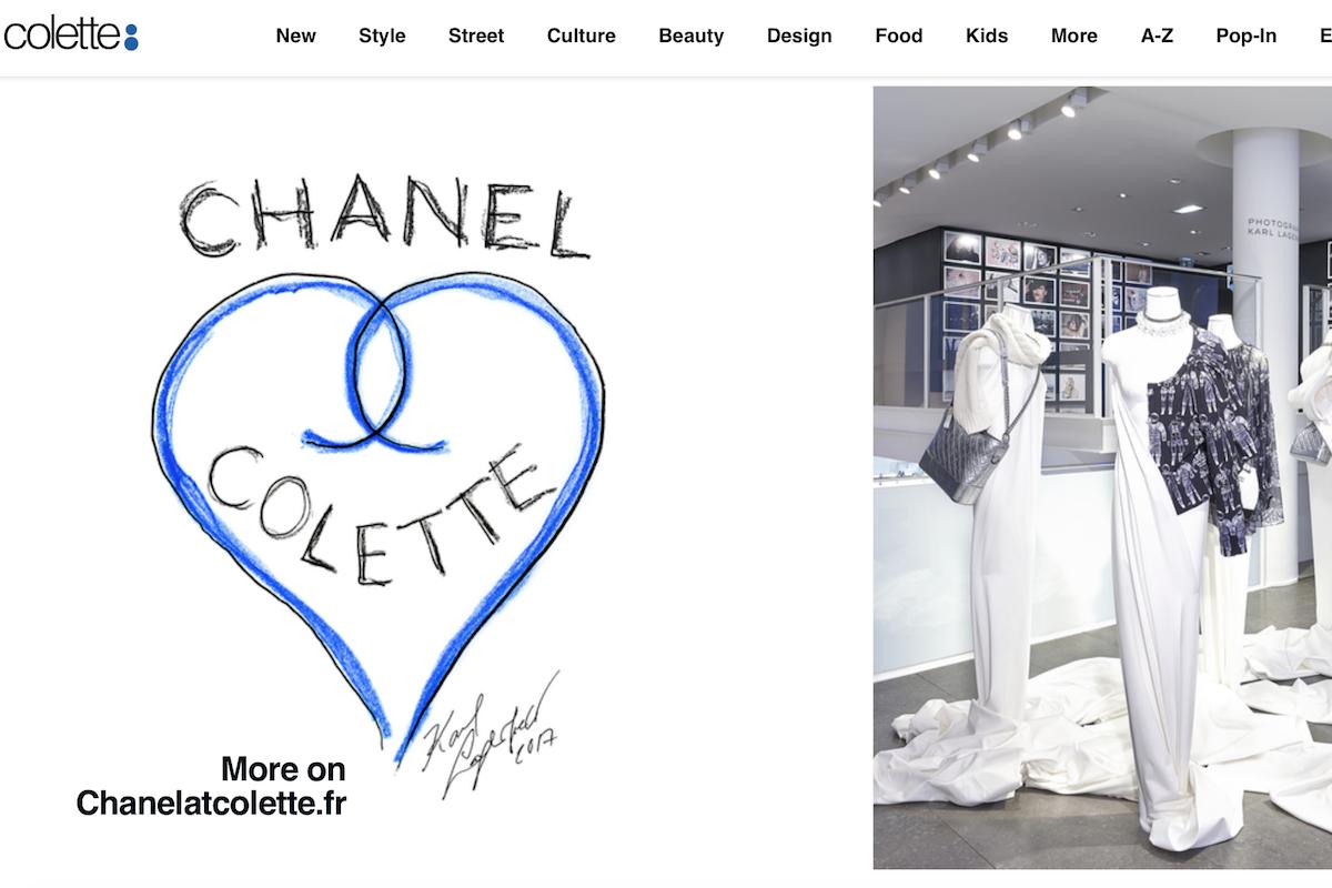 巴黎著名精品买手店Colette谢幕在即,Chanel和Saint Laurent将成为最后在这里举办特展的合作品牌