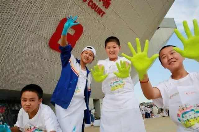 2017中网公益行:为西藏儿童、自闭症少年、打工子弟举办系列网球公益活动