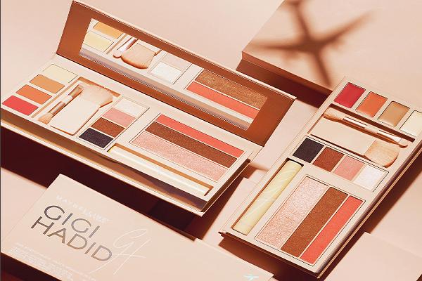 人气超模 Gigi Hadid 与美宝莲合作,跨界推出美妆系列,上架90分钟即告售罄