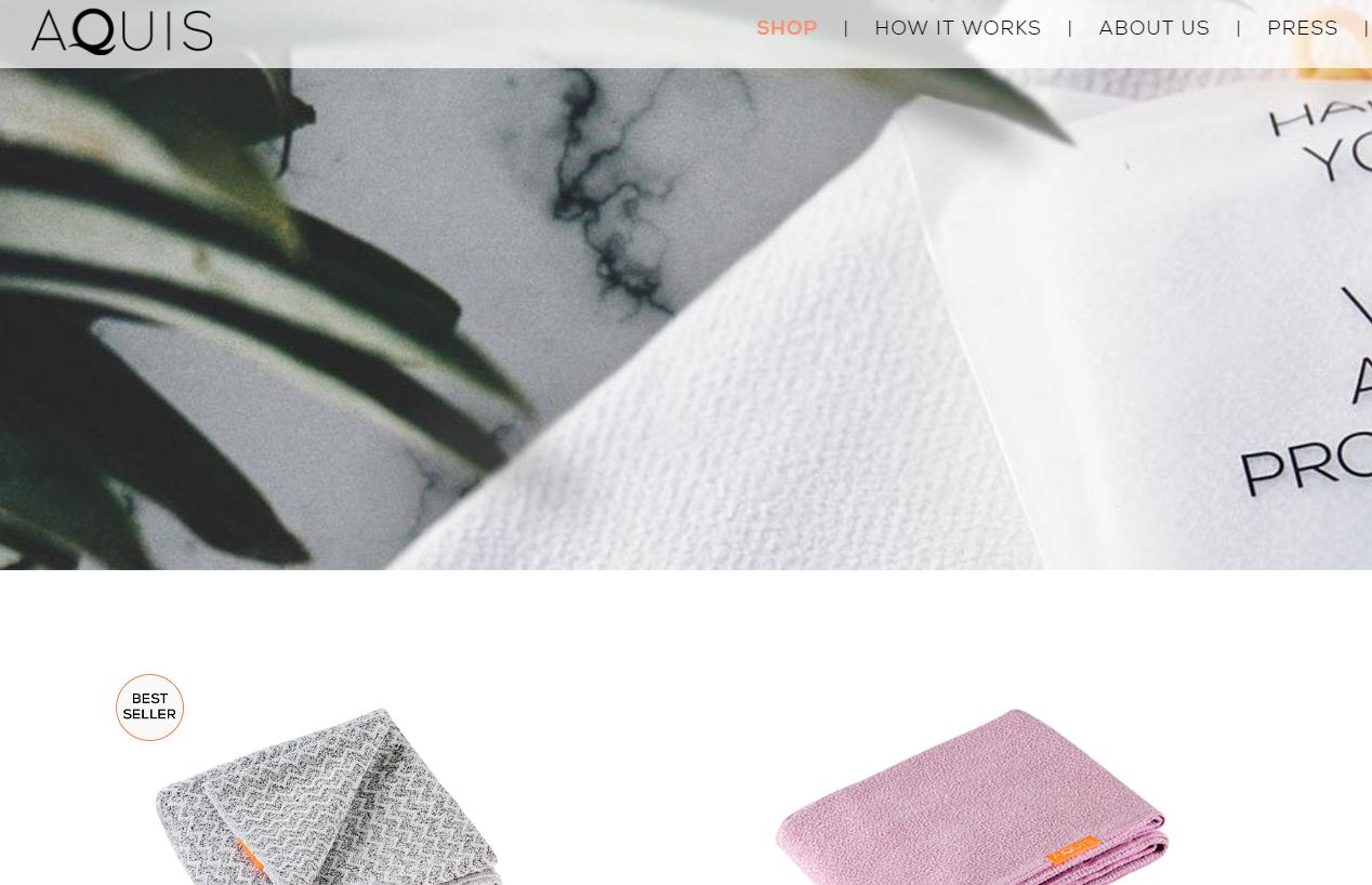 快速成长的创新干发毛巾品牌 Aquis 获得400万美元投资,旨在颠覆传统护发理念