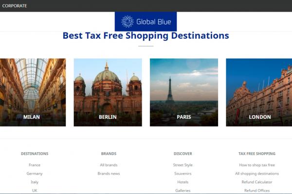 环球蓝联:欧洲退税购物重归增长轨道,中国人消费占比达28%