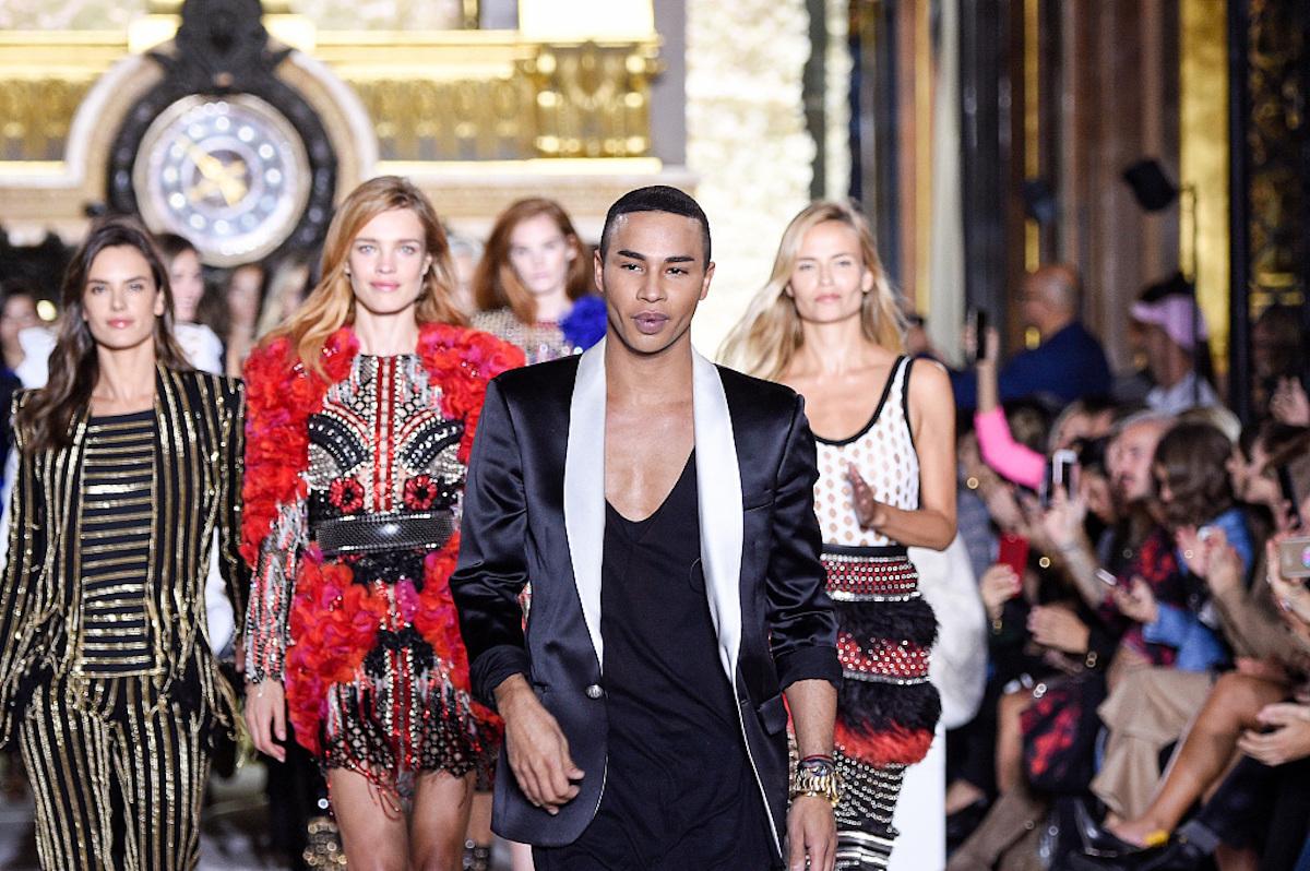 法国奢侈品牌 Balmain 最新发展状况:创意总监 Olivier Rousteing 个人IP依然是最大卖点