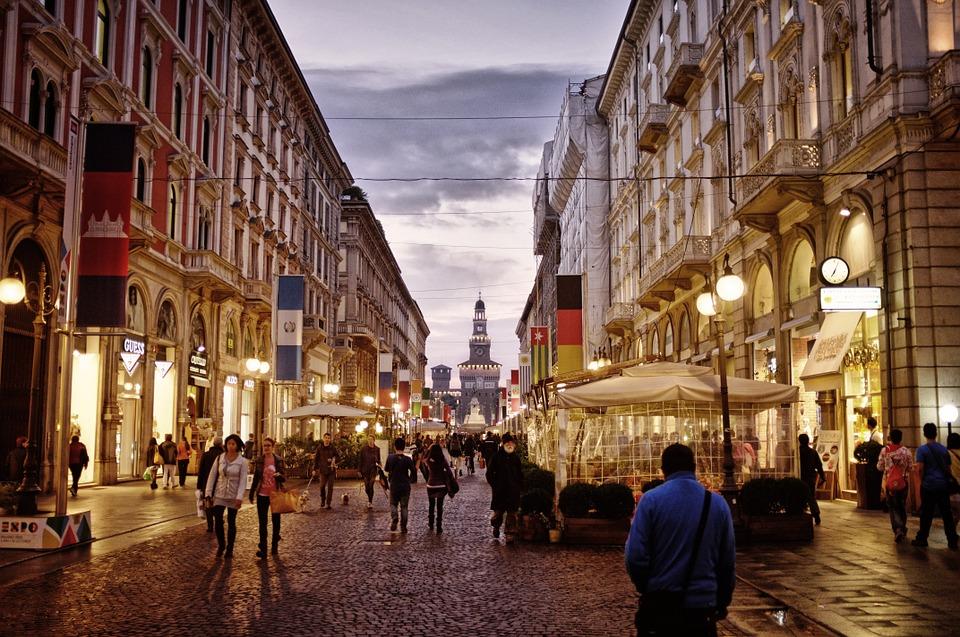 外来投资介入、品牌需求旺盛,意大利奢侈品购物街租金飞涨