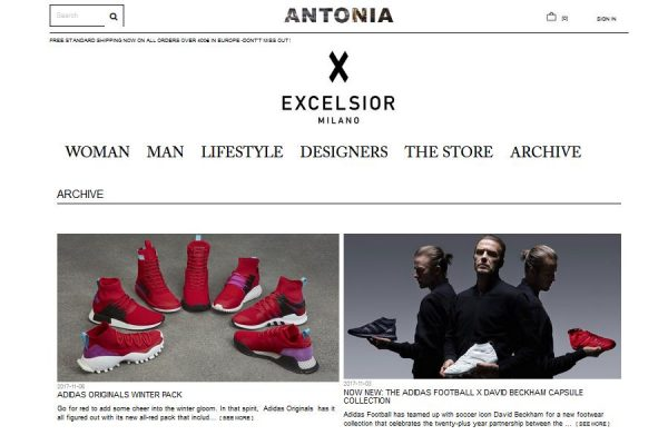 意大利知名奢侈品百货 Excelsior Milano 宣布结束与多品牌集合店运营商 Antonia 的合作