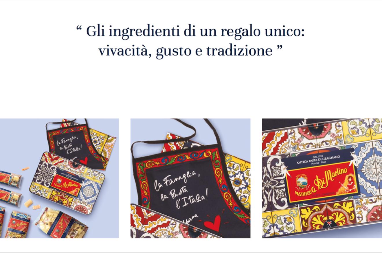 Dolce&Gabbana 跨界美食,联手意大利面生产商 Pastificio di Martino 推出限量版意面和围裙套装