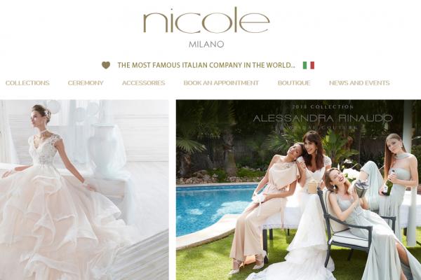 意大利婚纱制造商 Nicole Fashion Group 入选意大利证交所 Elite 计划