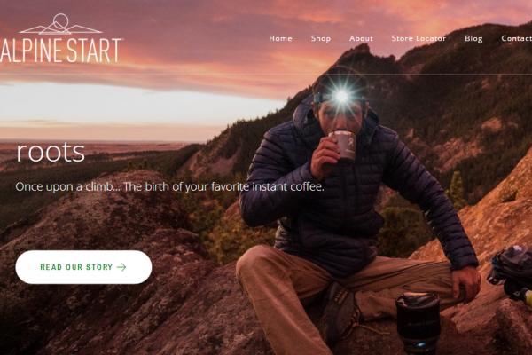 为户外探险者创造的优质速溶咖啡:Alpine Start Foods 获得风险投资公司支持