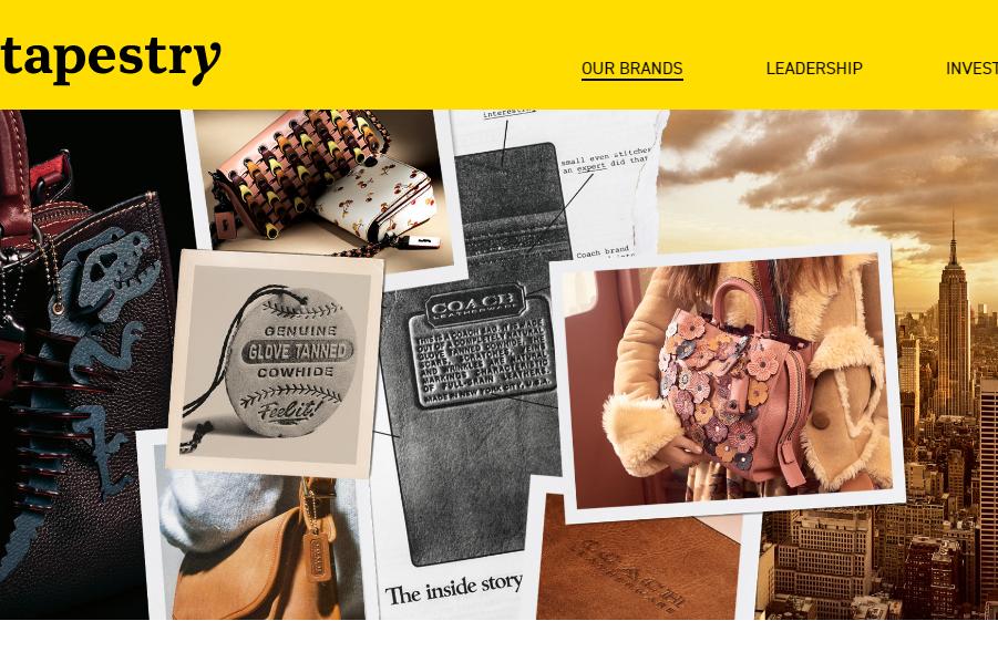 美国轻奢时尚集团Tapestry最新季报:Coach销售额意外下滑3%、但收购Kate Spade产生的协同效应显著