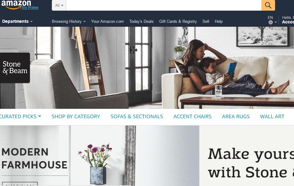亚马逊也要挑战宜家吗?进军家居市场,首推两个自有家具品牌