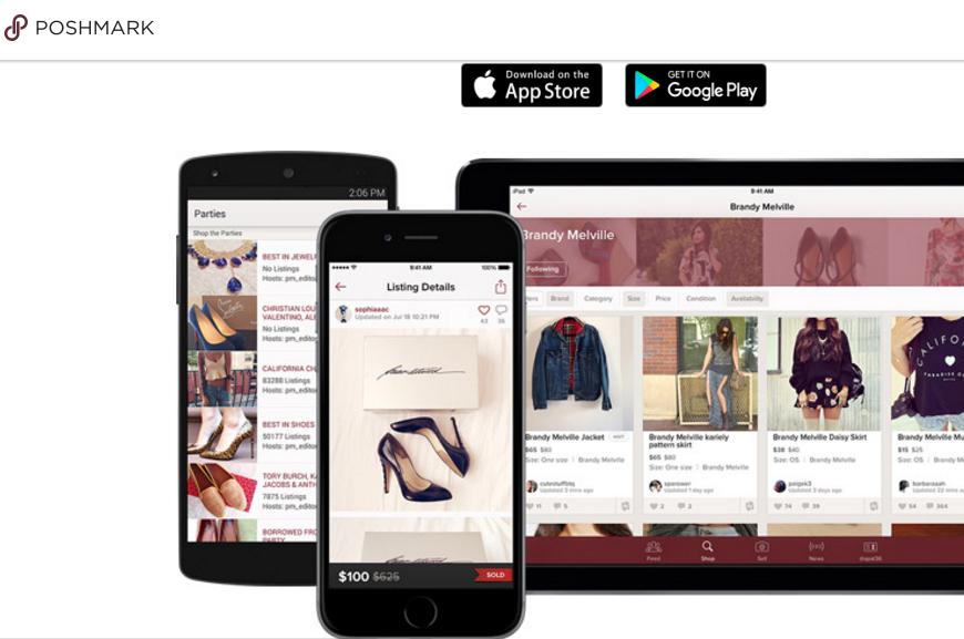 全球最大社交时尚电商平台Poshmark完成D轮融资8750万美元,新加坡主权基金淡马锡领投