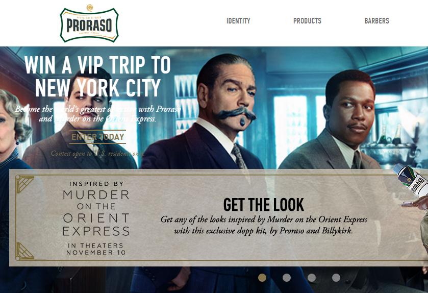 意大利顶级剃须品牌 Proraso在纽约开办沙龙,将意式剃须体验带到美国