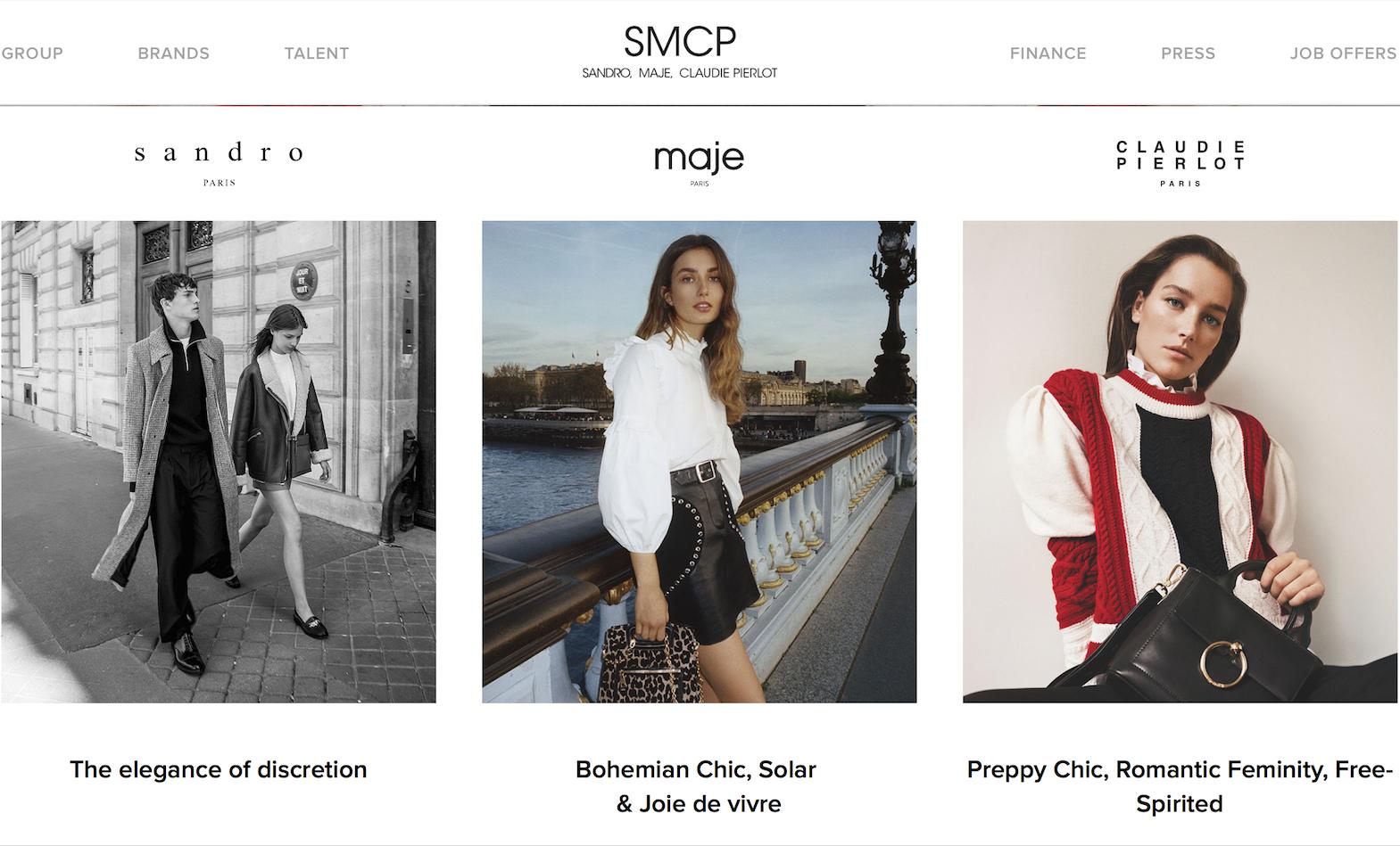 Sandro和Maje的母公司,法国时尚集团SMCP公布上市后首份季报:销售同比增长17.7%,目标全年销售9亿欧元