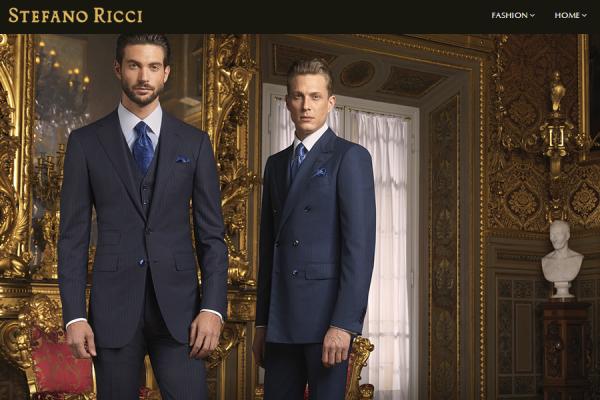 意大利奢侈男装品牌Stefano Ricci交接棒:创始人将管理权传给两个儿子