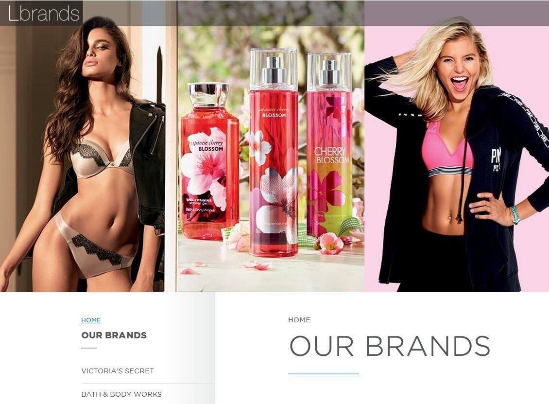 维密母公司 L Brands 10月业绩终于强势反弹,股价大涨 9.4%,上调全年盈利预期
