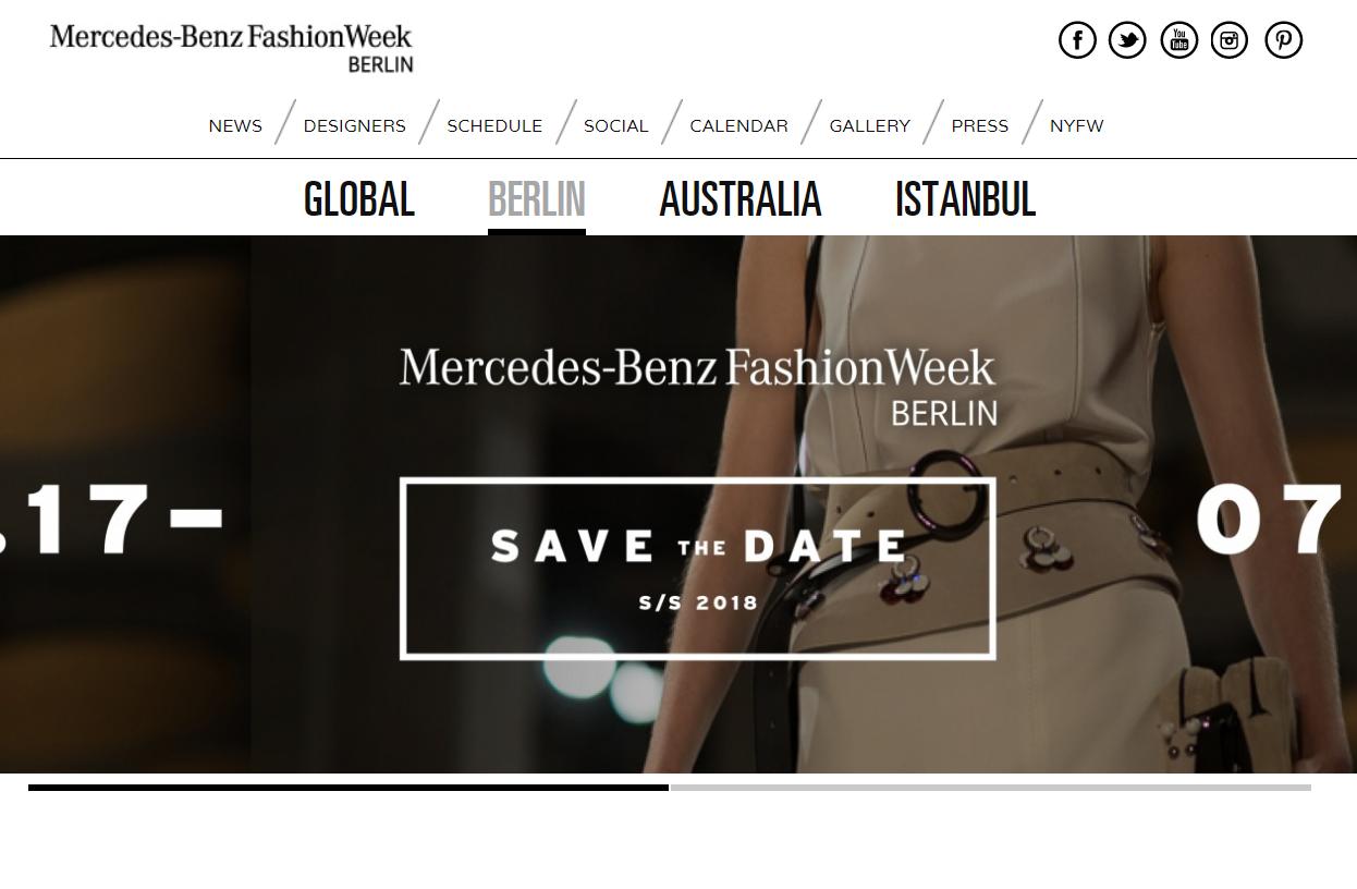 奔驰将继续担任柏林时装周冠名赞助商,但活动规模将缩小一半,侧重提携年轻设计师品牌