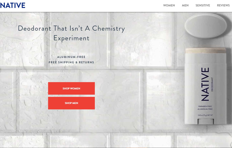 宝洁公司斥资1亿美元收购天然香体露品牌 Native Deodorant